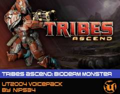 Tribes Ascend Bioderm Monster Voicepack